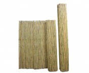 003-68 FENCE BAMBOO W/INSET WIRE